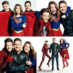 #Supergirl #TheFlash #Arrow #legendsoftomorrow @EW