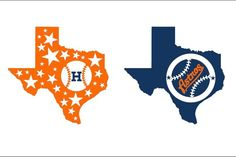 Baseball Tumbler Decals, Texas Rangers Decal, Houston Astros Decal by StickyStuffbyLauren on Etsy https://www.etsy.com/listing/500313410/baseball-tumbler-decals-texas-rangers
