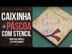 Video Aula: Caixa Redonda Rosas | Livia Fiorelli | LifeArtesanato - YouTube