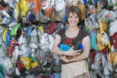 Darn Good Yarn has a mission: to keep plastics, fabric and paper from heading to the dumpsters. They have successfully recycled materials into fun yarns. Much of their work also goes towards poverty alleviation in Nepal.