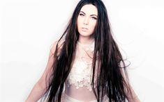 Indir duvar kağıdı Elize Açık, İsveçli şarkıcı, Kamelot, İsveç, Amaranthe, portre, fotoğraf çekimi