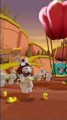 Rabbids Crazy Rush is a Free-to-play Android, Action Runner Multiplayer Game featuring the Rabbids and their latest insane plan to reach the moon