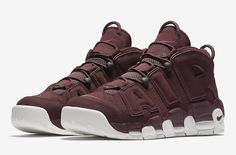 c80b76b625c1e The Nike Air More Uptempo Bordeaux is set to release this Spring 2017  season featuring a Maroon wine-inspired upper and off-white accents.
