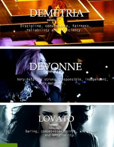 Demetria Devonne Lovato, you know her name, not her story