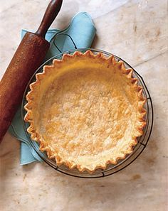 good old homemade pie crust is always better than store bought......