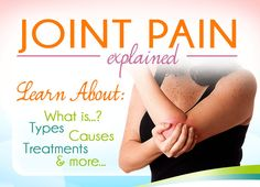 joint pain explained  Visit us  jointpainrepair.com  Via  google images  #jointpain #jointpains #jointpainrelief #kneepain #kneepains #kneepainnogain #arthritis #hipjoint  #jointpaingone #jointpainfree