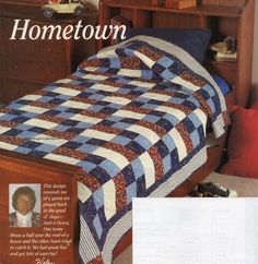 Hometown Quilt Pattern Pieced HD
