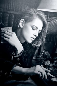 Tumblr Kristen's Portrait from Chanel's Mademoiselle Prives Exhibition