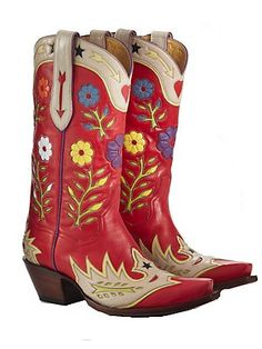 Gypsy Rose Cowboy Boots...but if I ever win the lottery and decide to pay this much for boots, I'll have them custom made in the OKC stockyards!
