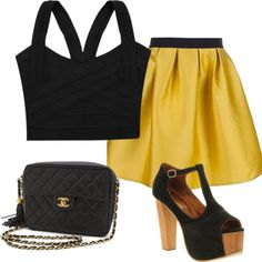 simple, created by kmvelovitch on Polyvore  I will wear something like this Summer 2013