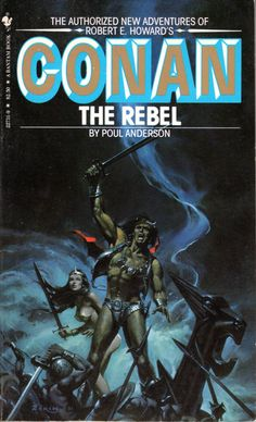 Conan the Rebel - Poul Anderson, cover by Lou Feck