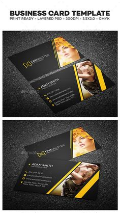 242 best business card inspiration images on pinterest business photography business card by thelogovibe business card template this creative and corporate business card is fully editable template for your business or reheart Gallery
