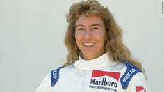 Giovanna Amati, Italian female racing driver for the Brabham Formula One World Championship team, but failed to qualify for a race (1992)