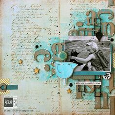 Spell It Out – a layout by Riikka