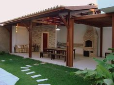 Pergola Attached To House Australia - Pergola Aluminium Terrasse - - Wooden Pergola Moderne - Backyard Pergola, Pergola Shade, Patio Roof, Pergola Kits, Pergola Ideas, Patio Ideas, Pavers Patio, Small Pergola, Pergola Roof