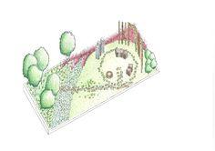 Garden 7 - Prairie-Grassland #LifestyleCollege#Landscaping#Axonometric#ShowGardens2016#MohammedRiazRagooloo#KerryAnneStead#BrendonDelport