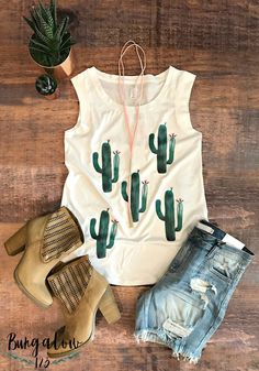 SHOP the Sagauro Cactus Tank! -> https://bungalow123.com/collections/new-arrivals/products/raining-cactus-tee?utm_content=buffer6050d&utm_medium=social&utm_source=pinterest.com&utm_campaign=buffer SHOP New Arrivals! -> https://bungalow123.com/collections/new-arrivals?utm_content=buffer62a55&utm_medium=social&utm_source=pinterest.com&utm_campaign=buffer