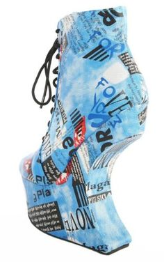 Qoors19-Collage-Print-Heel-Less-Laced-Ankle-Boots