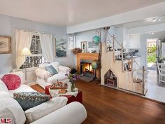 Fall in love with the shabby chic style of this tiny beach bungalow