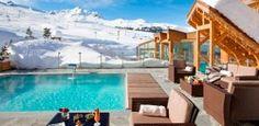 Hotel Annapurna - set alongside the Pralong ski run in Courchevel 1850 - http://www.movemountainstravel.com/offer/hotel-annapurna/