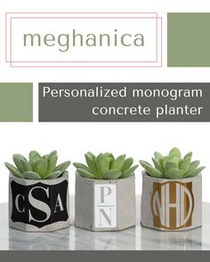 Minimalist Home Decor. Custom Concrete Dish Blue Marbled Tealight Concrete Candle Holder Air Plant Display Concrete Mini Planter