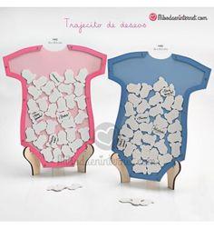 Trajecito de Deseos de Madera Favors, Onesies, Kids, Baby, Clothes, Messages, Ideas, Suits, Party