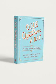 Slide View: 1: One Question a Day: A Five-Year Journal By Aimee Chase
