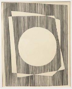 Josef Albers (1888-1967) White circle (Weisser Kreis) 1933