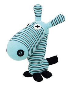 Take a look at this Handmade Earl Sock Plush Toy by NO3NO4 on #zulily today!