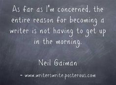 Neil Gaiman -- doesn't he have kids?? :) Still love him though.