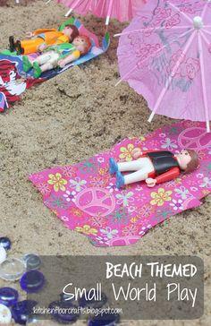 Kitchen Floor Crafts: Beach Small World Play