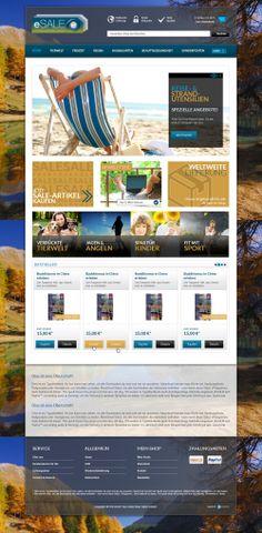 E-Commerce Webdesign made by 4market | www.4market.de/ | Onlineshop für Bücher und mehr