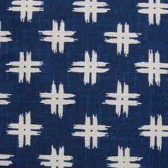 Tissu japonais motif géométrique croix