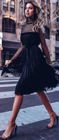 Street Style ~Annabelle Fleur Wearing Philosophy di Lorenzo.
