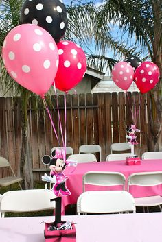 Sophia's 1st Birthday - Minnie Mouse Party