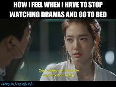 """Protip: Just don't go to bed! K Drama, Drama Songs, Kdrama Memes, Funny Kpop Memes, Bts Memes, Korean Drama Quotes, Drama Funny, Korean Language Learning, Crazy Quotes"