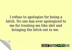 Damn right