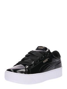 Damen PUMA Sneaker Vikky schwarz   - Kategorie  Damen SchuheSneakerSneaker  LowSneaker Material  Lack  Material  Weiteres Material  Absatzart  Ohne  Absatz  ... 4badb0920b