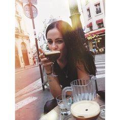 Cheers to THIS!  #paree #espressomartini #notfrenchbutstilltasty #pigalle