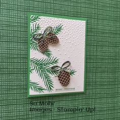 Stampin' Up! demonstrator site and online store - SU - Christmas Pines, Teeny Tiny Wishes by Sue Mohr