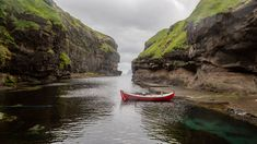 Gjógv Iceland, Photos, River, Outdoor, Ice Land, Outdoors, Pictures, Photographs, Rivers