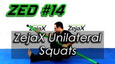 ZED #14 - ZejaX Unilateral Squats with no wall support | Zejax