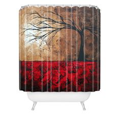 Madart Inc. Lost In The Forest Shower Curtain   DENY Designs Home Accessories  #DENYWISHLIST