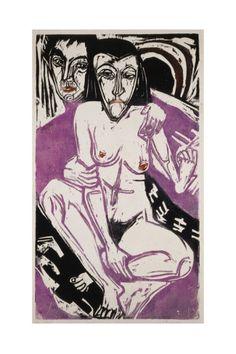 Ernst Ludwig Kirchner, Melancholy Girl 1922 on ArtStack #ernst-ludwig-kirchner #art