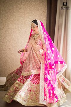 (Desi Bridal Shaadi Indian Pakistani Wedding Mehndi Walima) Wedding dress for Indian/Pakistani Bride.  #wedding #bridaldress     See more at Pinterest #@snapchamp
