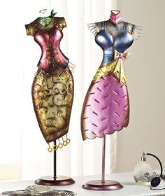 dress forms decorated with pearls - Google Search