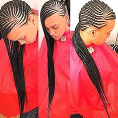 Have you been swooning over the hottest hairstyle of 2017 – Alicia Keys braids? We've compiled our top ideas for styling your cornrows. Cornrows have been around for many years… Cornrows Braids For Black Women, Black Girl Braids, African Braids, Girls Braids, Lemonade Braids Hairstyles, Box Braids Hairstyles, Protective Hairstyles, Hot Hair Styles, Natural Hair Styles