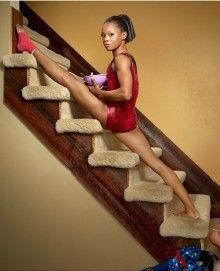 LoveIt   Gabby Douglas - The Flying Squirrel! Gymnastics Team, Olympic Gymnastics, Cheerleading, Gymnastics Stuff, Gymnastics Pictures, Gaby Douglas, Fierce, Flying Squirrel, Rio Olympics 2016