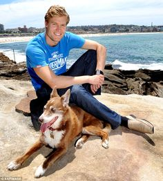 'It is the favourite thing I do': Speaking to the publication the Channel Ten star also professed his love for his day-job, and explained that despite seeing success in other areas, his vet clinic remained his main focus