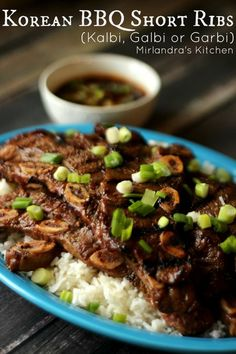 ... Korean Short Ribs on Pinterest | Short Ribs, Ribs and Beef Short Ribs